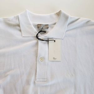 9a4d58bd Dior Shirts | Resort White Polo Shirt White | Poshmark